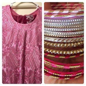 Other - Beautiful Salwar Kameez- 3 piece outfit & bangles!